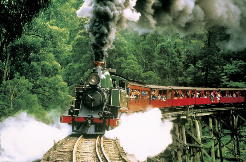 Tàu lửa hơi nước Puffing Billy