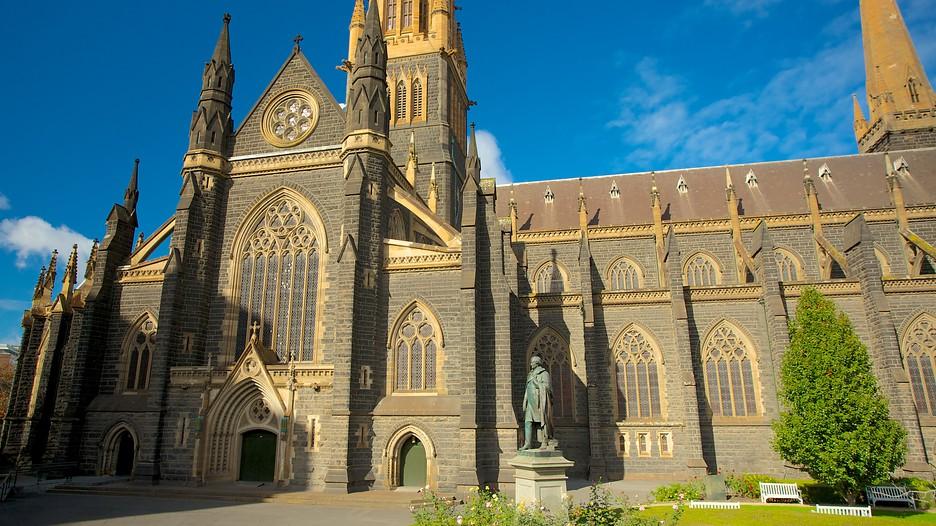 Nhà thờ St Patricks Cathedral trên đường Patricks