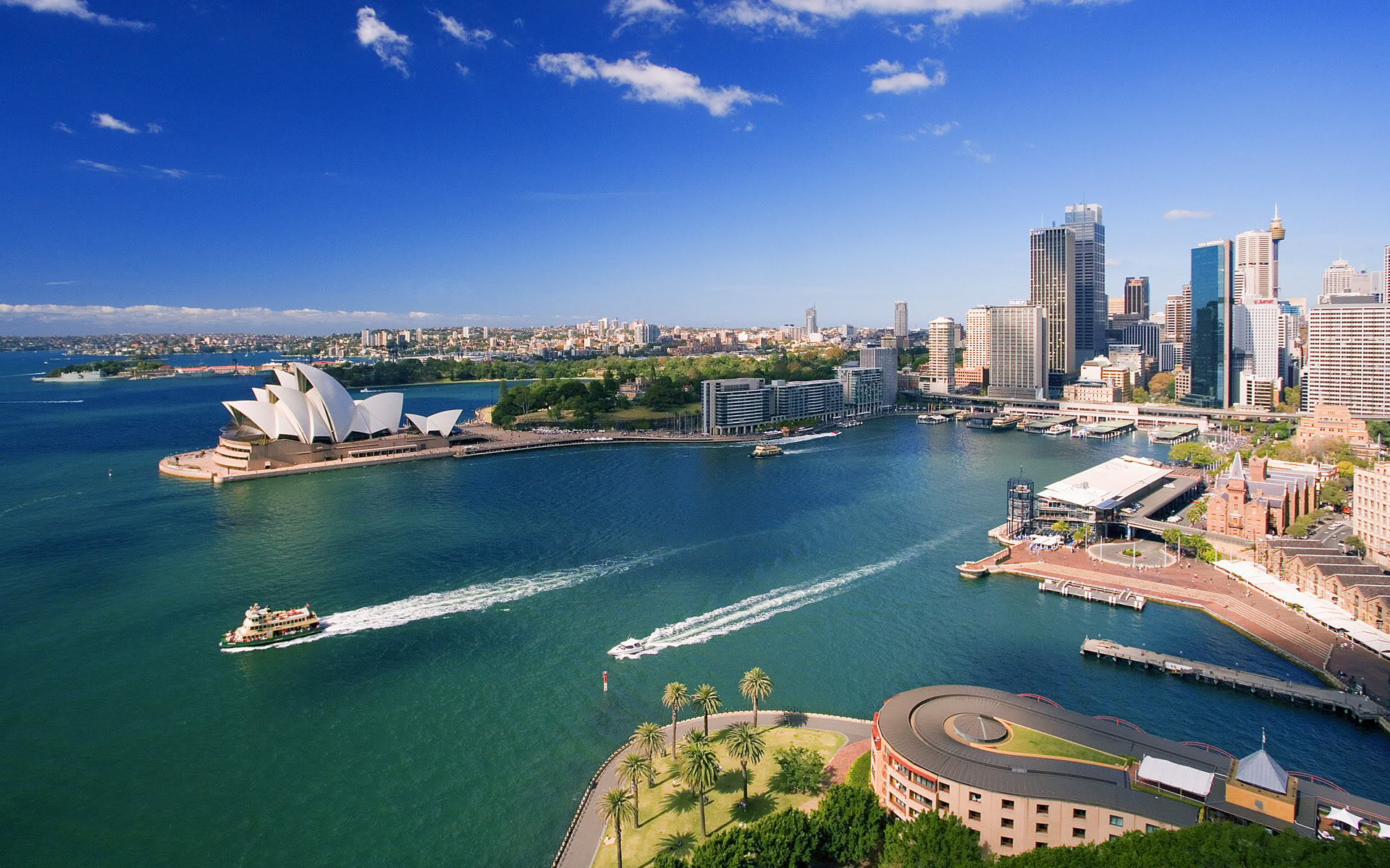 Thành phố Sydney: thành phố Cảng