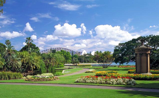 Vườn bách thảo Botanic Garden