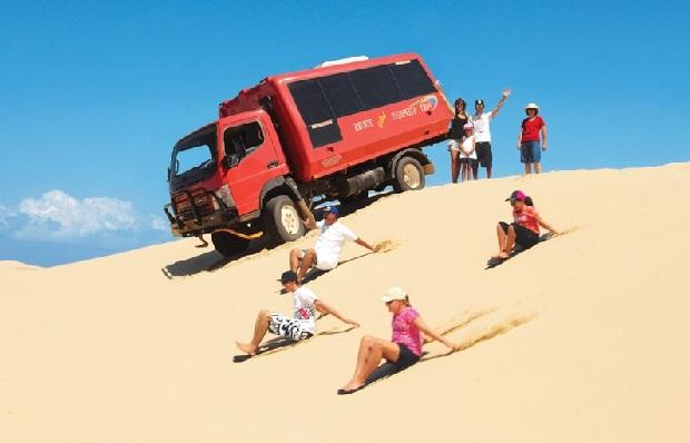 xe trượt dồi cát tại sydney