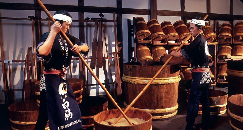 Nhà máy rượu Sake Hakutsuru