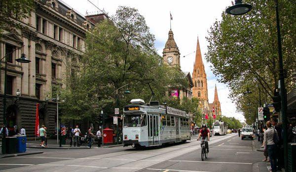 Phố Swanston Melbourne