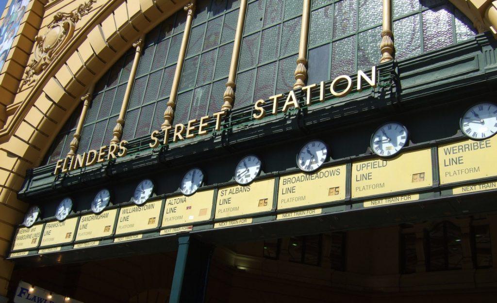 dong ho flinder street station
