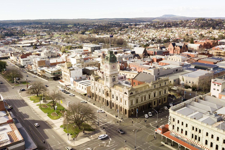 Thành phố Ballarat ngày nay