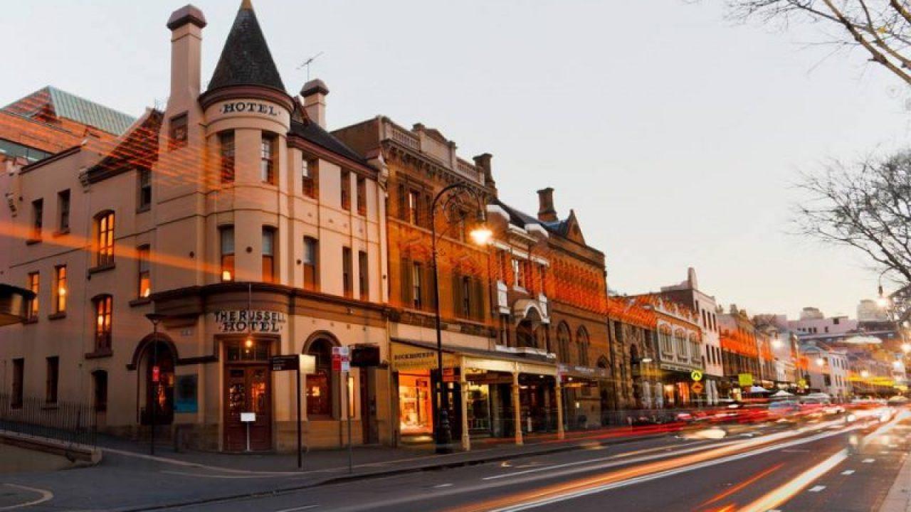 Khu phố lịch sử The Rocks - thành phố Sydney