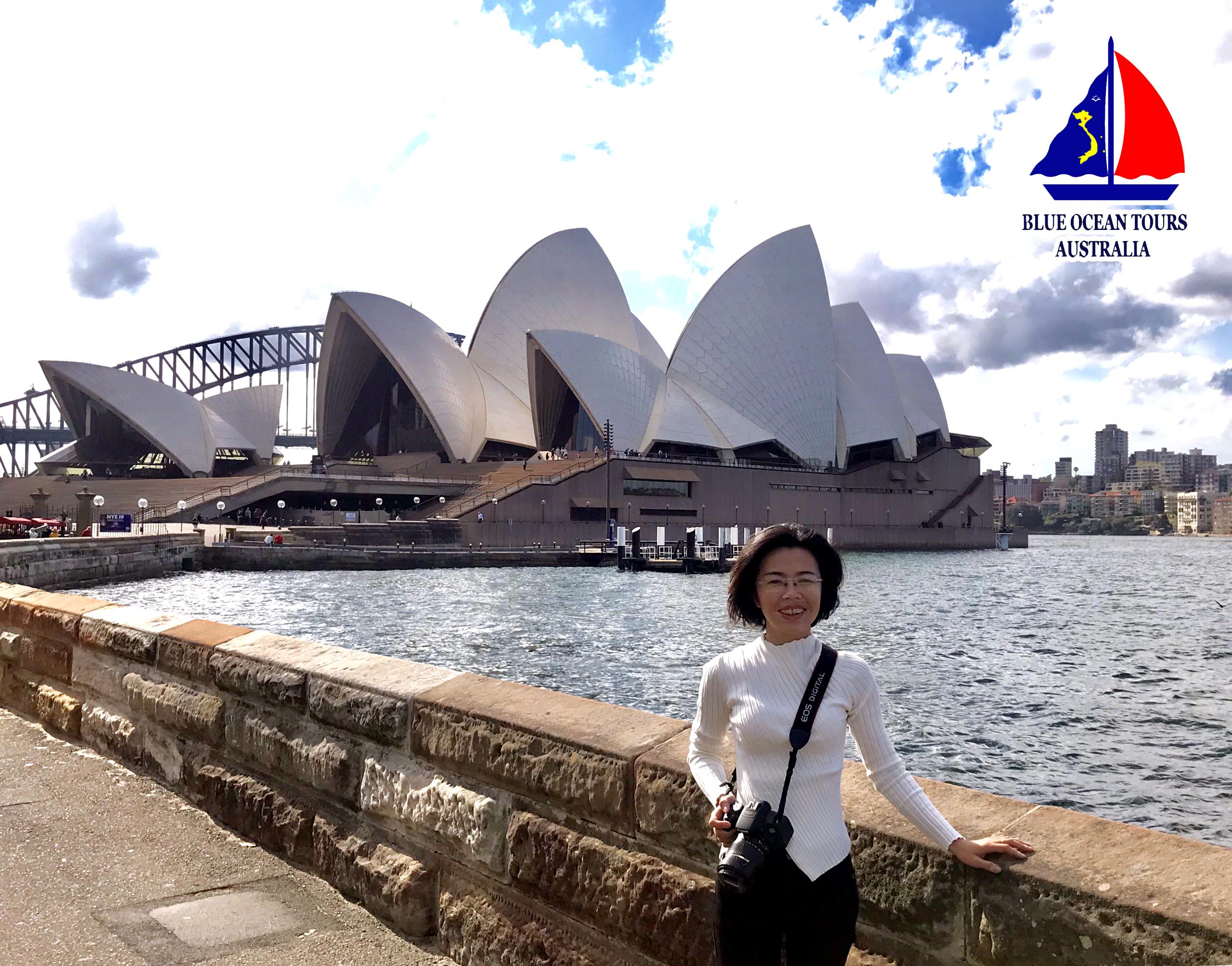 Sydney Opera House nhìn từ xa