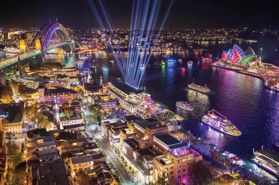 Vivid Sydney - Rực rỡ lễ hội ánh sáng Sydney