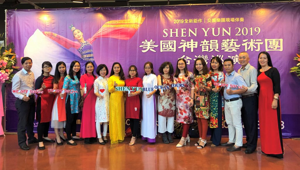 BOT'ers tham dự ShenYun 2019