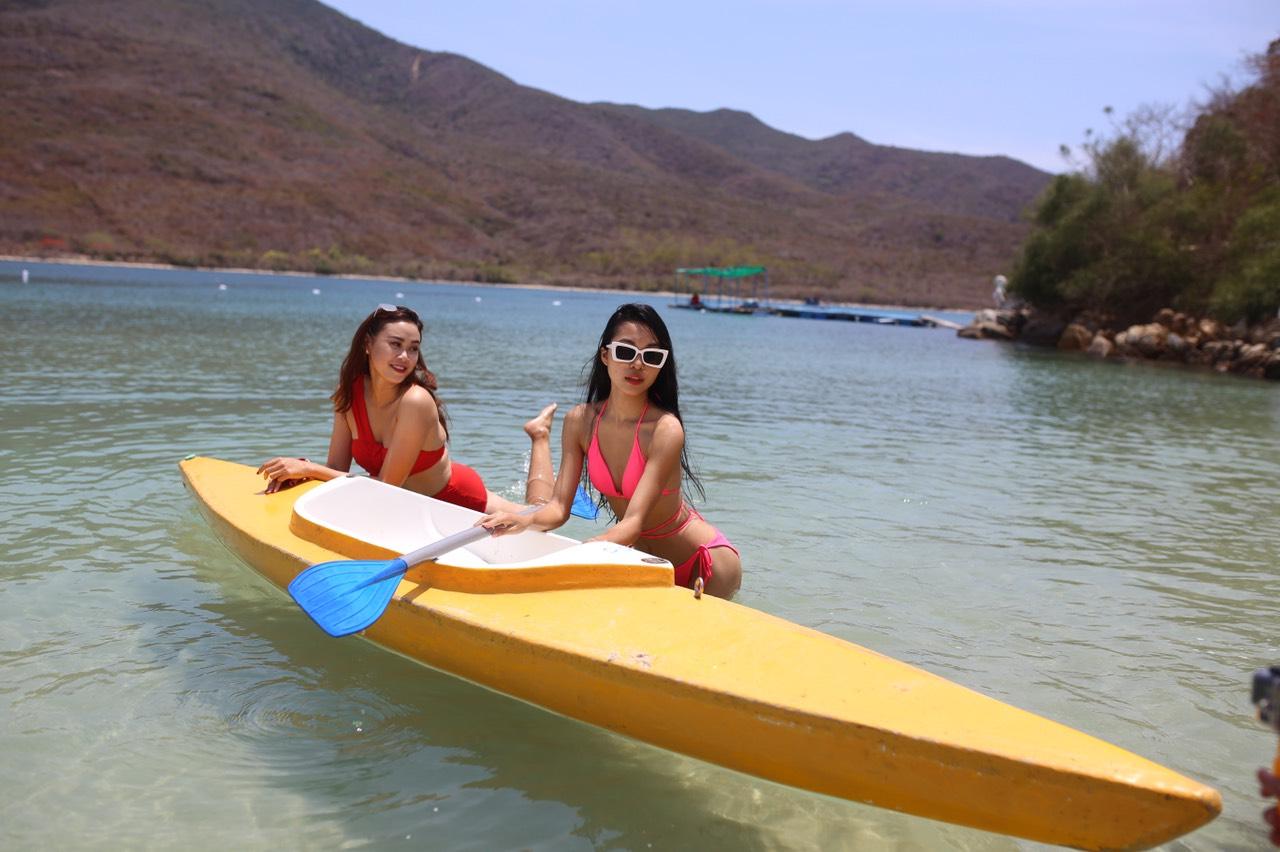 Chèo thuyền kayak Đầm Bấy