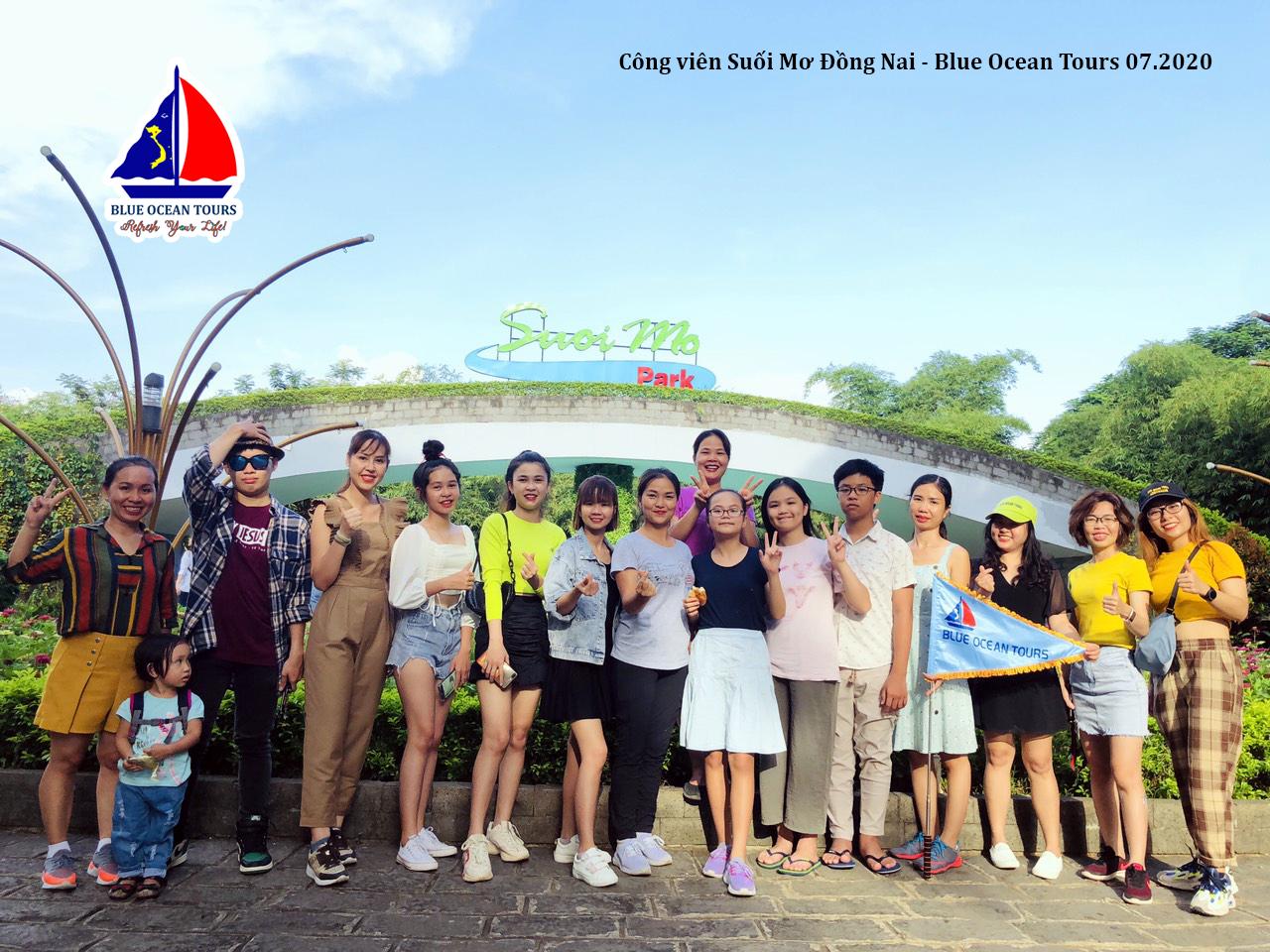 Suối Mơ Park ở Đồng Nai - Đoàn Blue Ocean Tours 07.2020